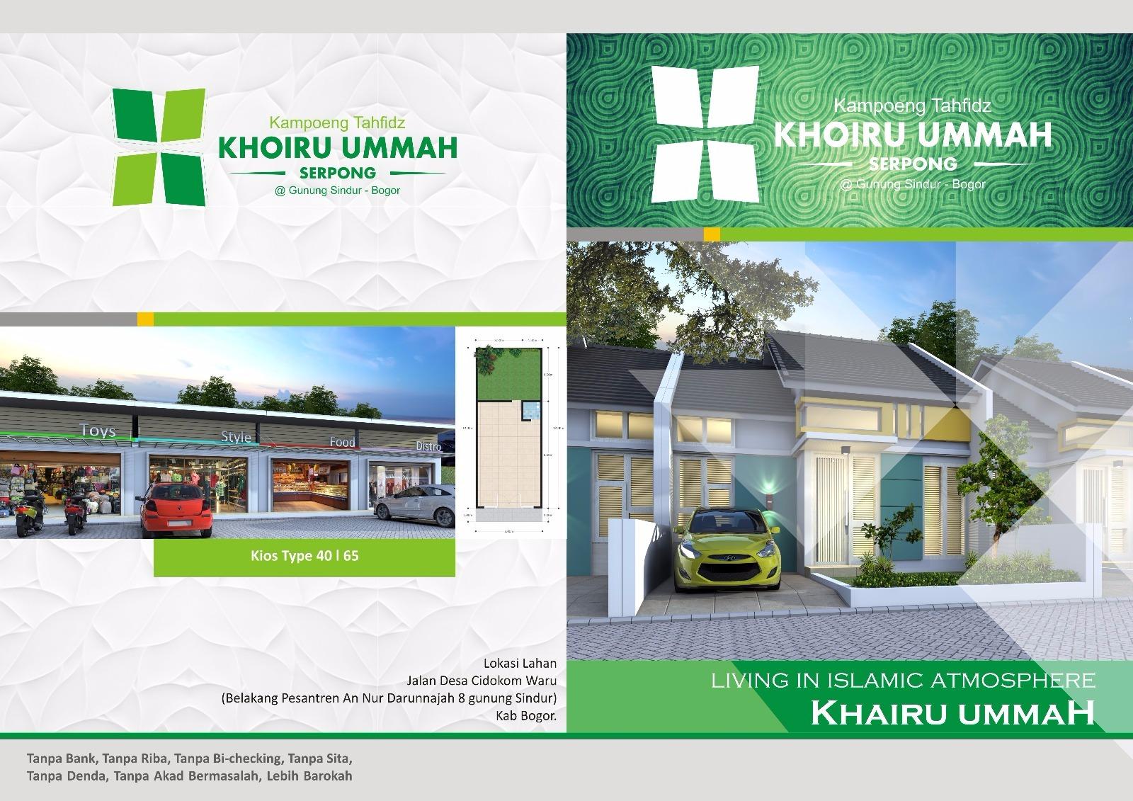 Perumahan Islami Kampoeng Tahfidz Khairu Ummah