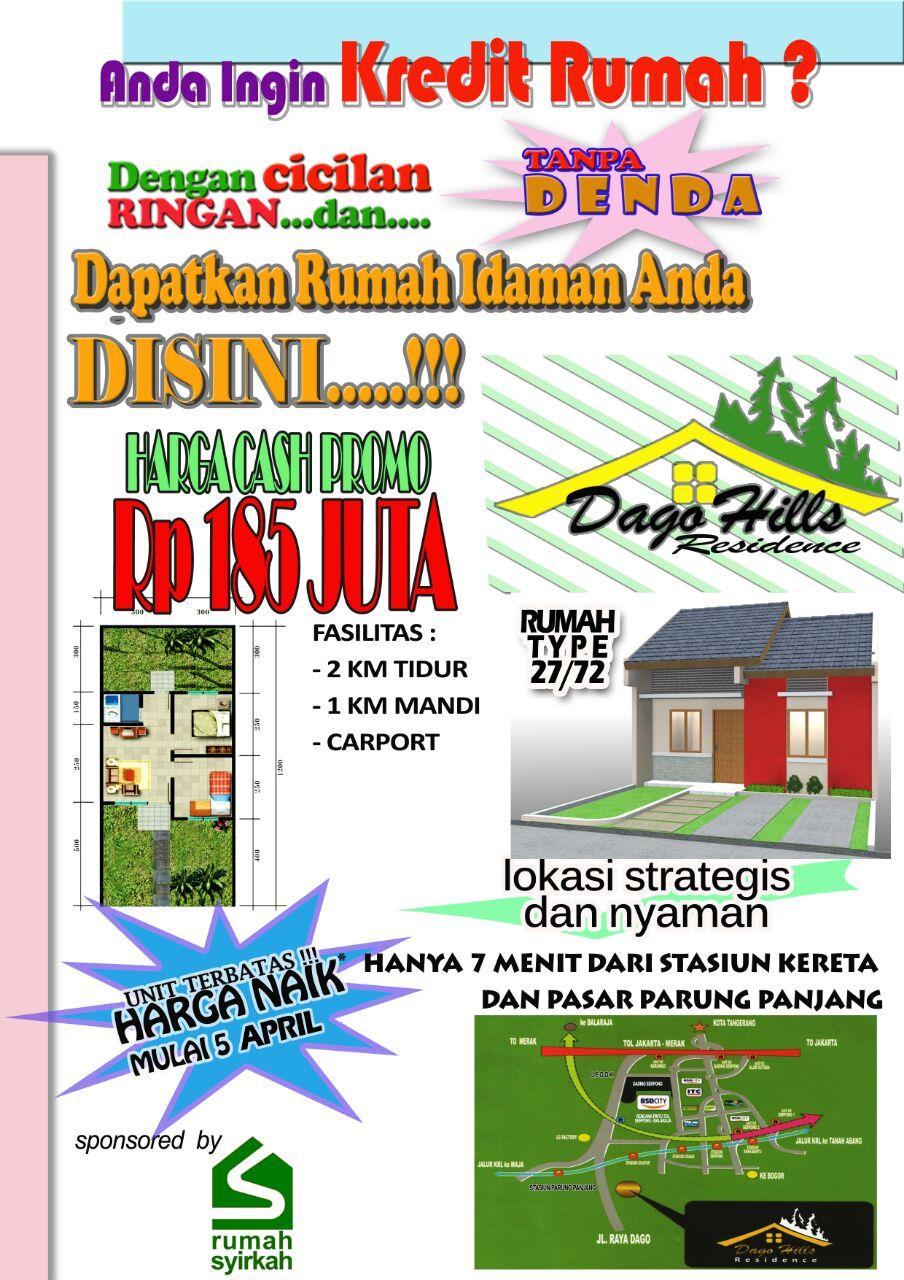 Rumah Murah di Parung Panjang Bogor
