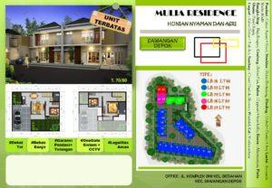 Mulia Residence Rumah Murah di Depok Sawangan