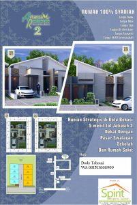 Rumah Type 36 di Jatiasih Arkanza Residence