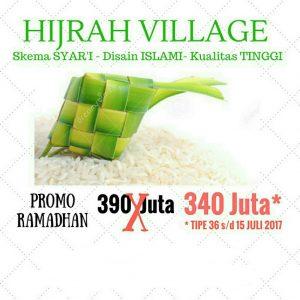 Promo Ramadhan Hijrah Village Yogya