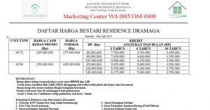 Rumah di Kota Bogor Bestari Residence