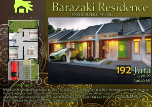 Barazaki Residence | Rumah Murah di Pasir Putih Depok