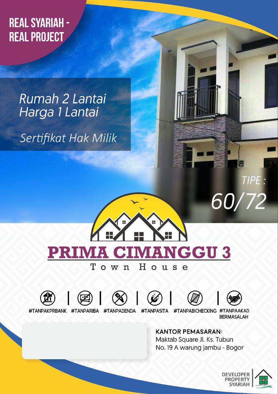 Rumah 2 Lantai di Cimanggu