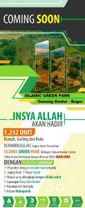 Perumahan Syariah Terbesar Islamic Green Park Gunung Sindur