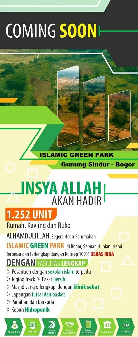 Islamic Green Park Gunung Sindur