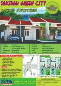 Perumahan Syariah di Depok Sakinah Green City Pasir Putih