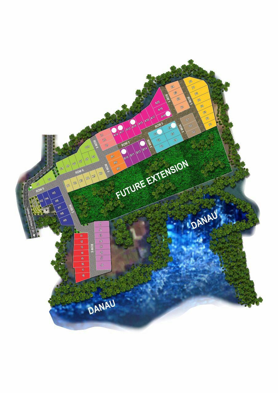 Makaya Lake Ville Serang Cibarusah