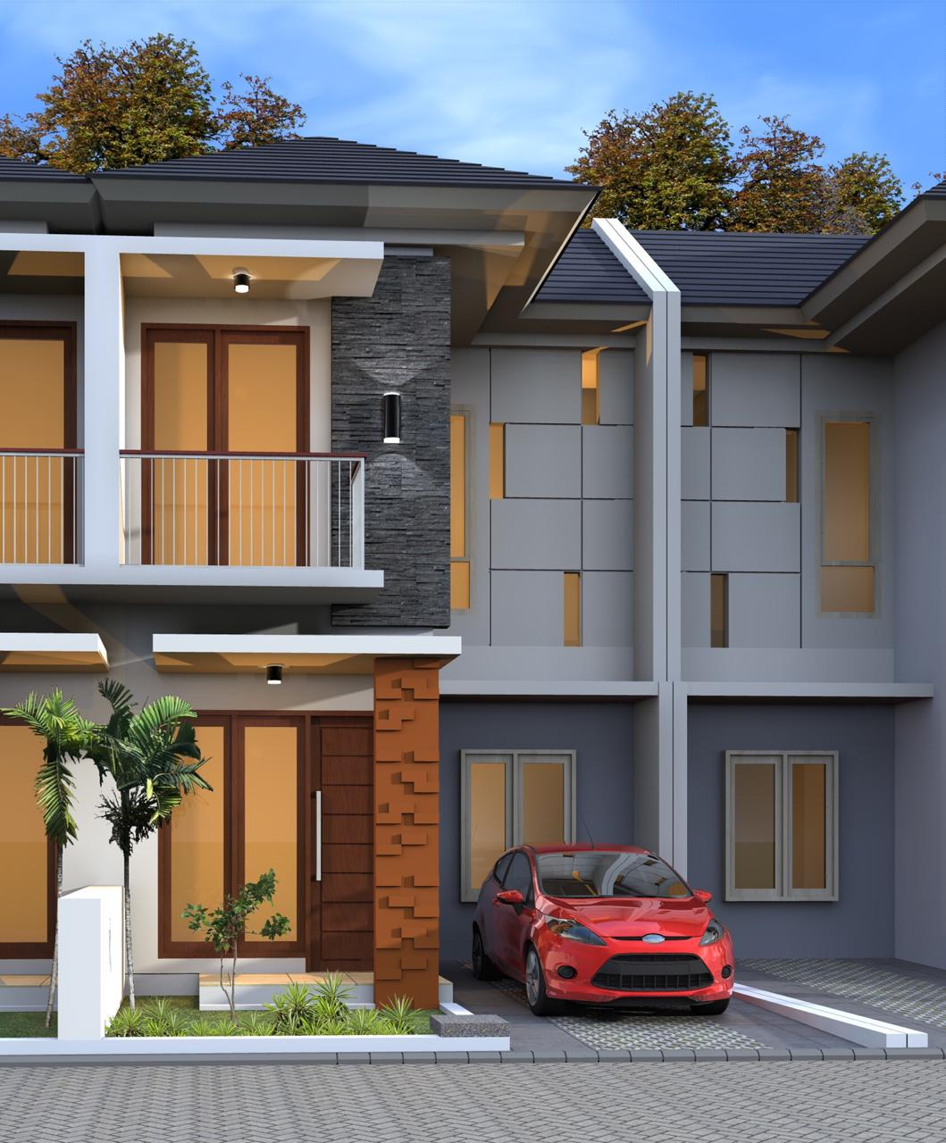 Rumah 2 Lantai di Kota Bogor Cuma 250 juta!