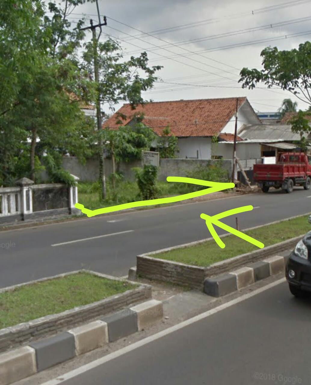 Jual Tanah di Jl.Raya Serang-Pandeglang Tengah Kota Sertifikat SHM