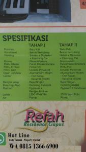 Perumahan di Kota Bogor Refah Residence