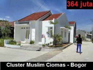 Perumahan Syariah Cluster Muslim Ciomas Bogor