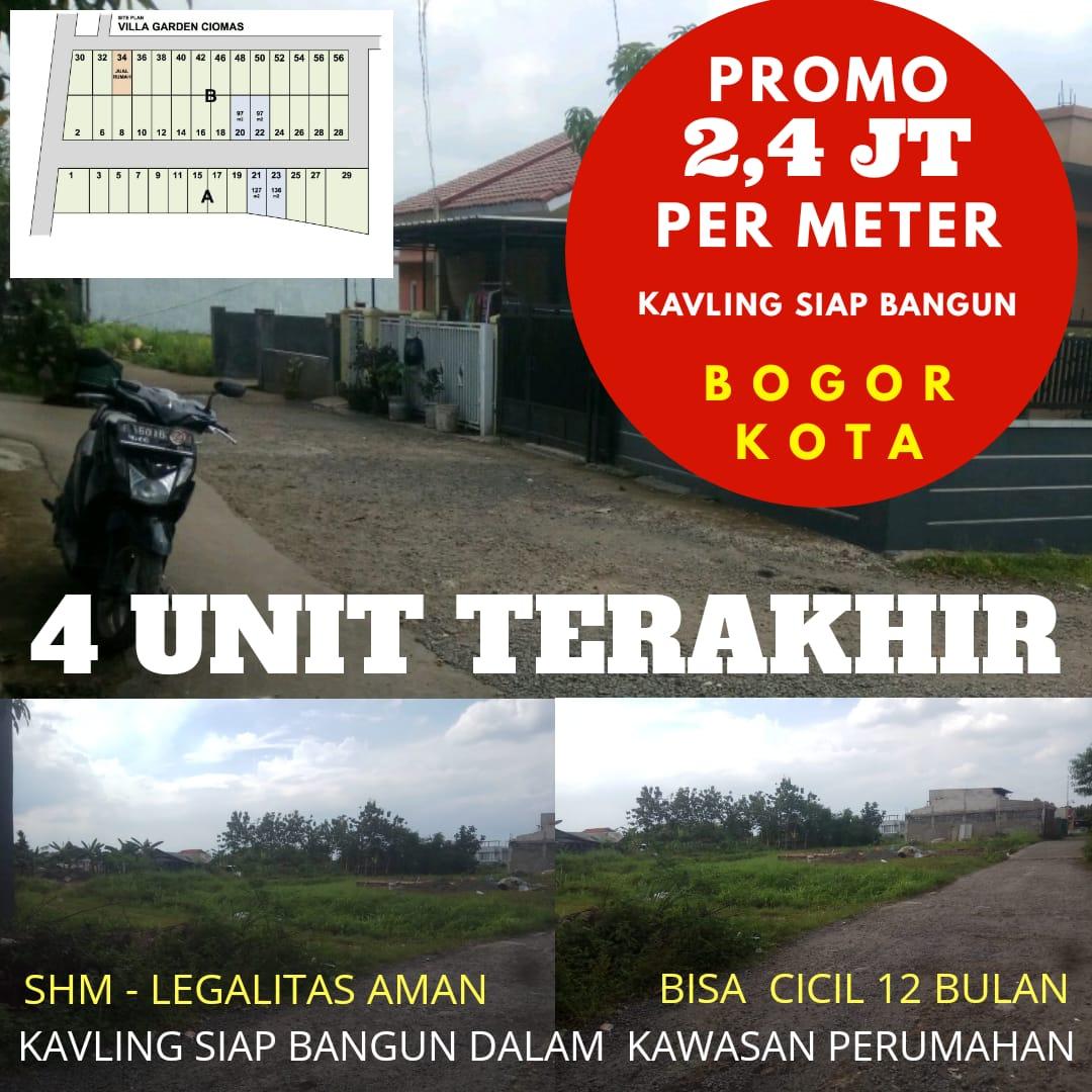 Jual Tanah di Bogor