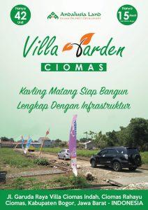 Villa Garden Ciomas Perumahan syariah di Bogor Kota