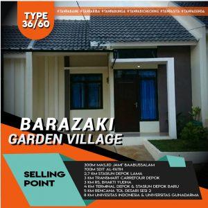 Perumahan SYariah Depok Barazaki Garden Village