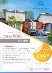 Kencana Hills Cilebut Perumahan Dekat Stasiun Free Lantai Mezanine