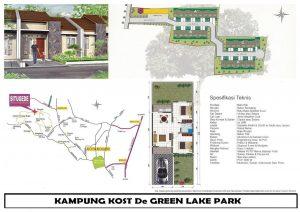 Rumah Baru Siap Huni di Kota Bogor De Green Lake Park Situ Gede Bogor