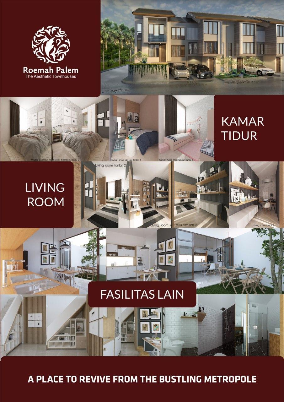 Desain Interior Roemah Palm Jakarta Timur