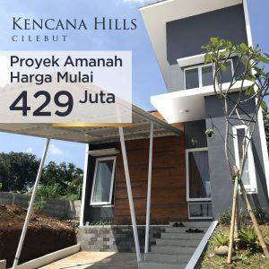 Perumahan Syariah Kencana Hill Cilebut Bogor