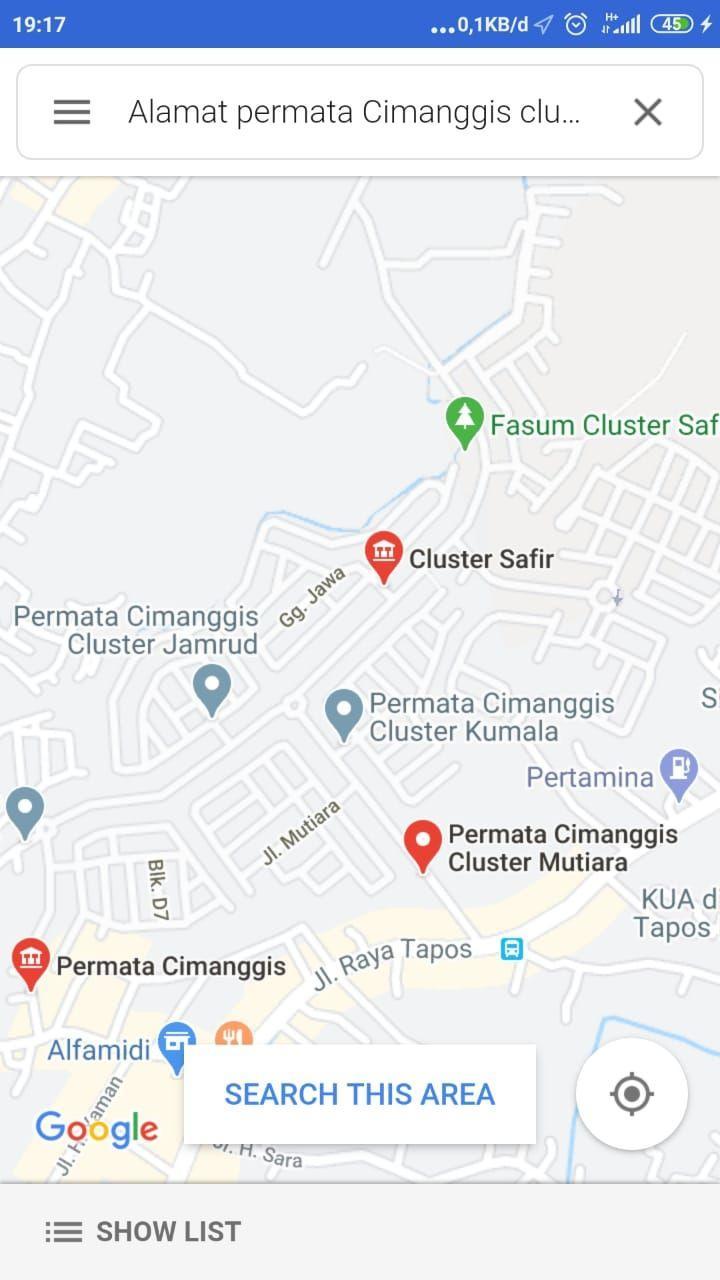 Permata Cimanggis Depok Cluster Mutiara