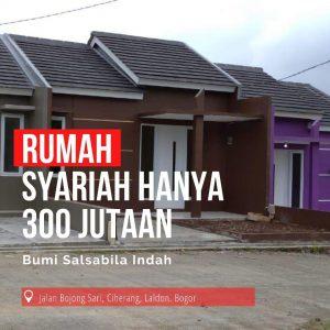 Rumah Tanpa DP di Perumahan Ciherang Bogor Salsabila Indah