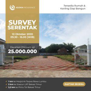 Tanah Dijual Rawalumbu Bekasi Timur dalam Cluster