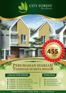 Perumahan Syariah City Forest Residence (CIFOR)