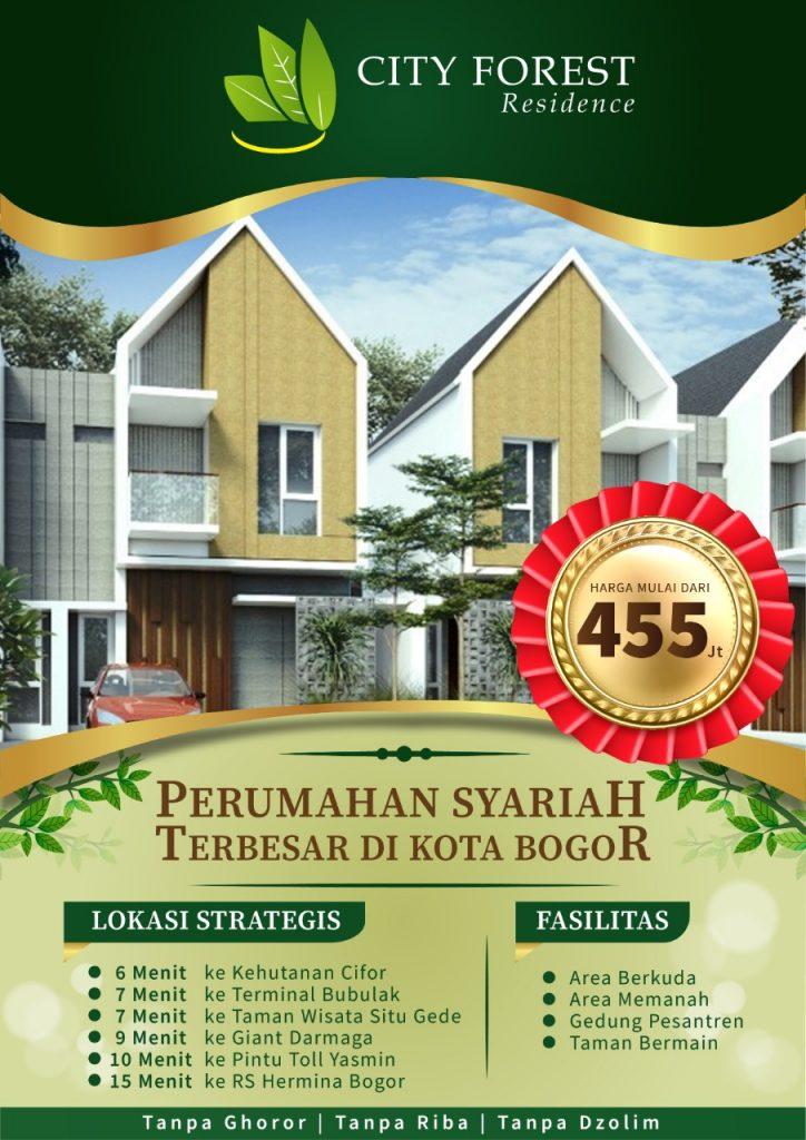 Jual Rumah di Bogor Cifor