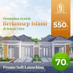 Perumahan di Bekasi Utara Raudhatul Jannah Residence