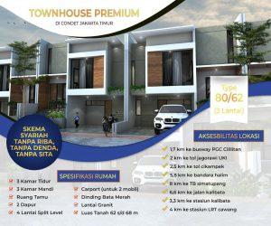 Rumah di Jakarta Kramat Jati bisa Tanpa DP