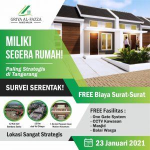 Launching Griya Al fazza Rajeg Mulya Tangerang