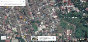 Jual Rumah Depok perbatasan Jakarta Harga murah Terjangkau
