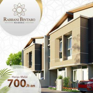 Rabbani Bintaro Residence Strategis Bintaro Tangerang Selatan