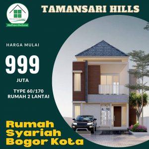 Rumah Mewah Bogor di Taman Sari Hills Marcopolo Bogor
