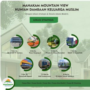 Perumahan Islami Mahakam Mountain View Samarinda