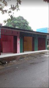 Jual 3 unit Toko dan 1 Rumah di Pinggir Jalan Raya
